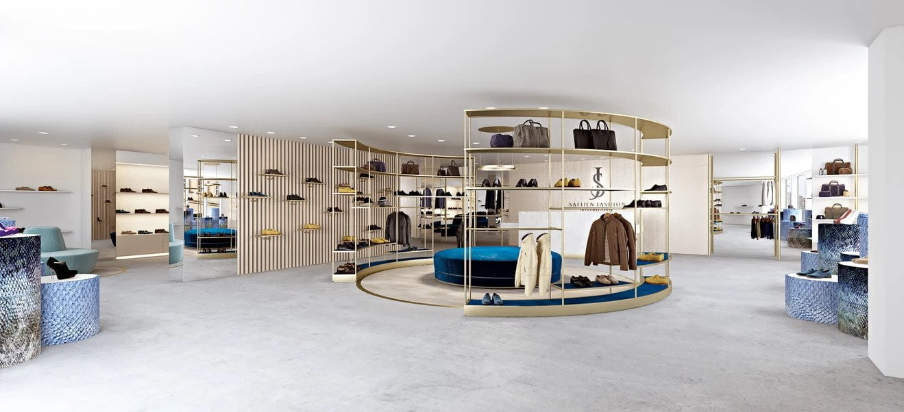 fashion boutique interior design - Guidomaggi Switzerland