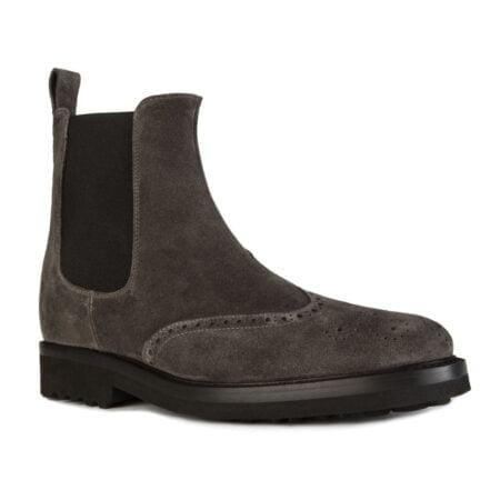suede dark chelsea boots 5