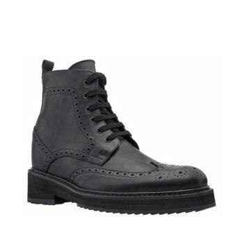 classic black borgue boots 4