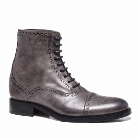grey burnished boots 5