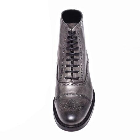stivali con tacco alto da uomo