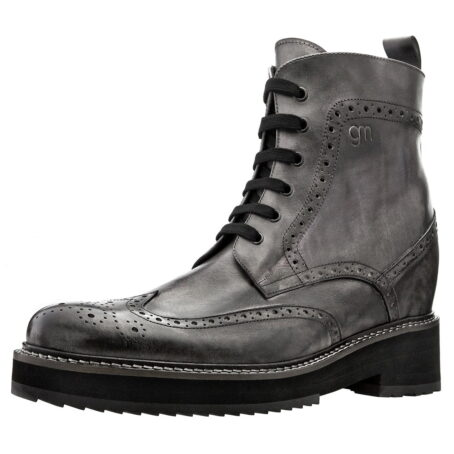 grey combact boots 4
