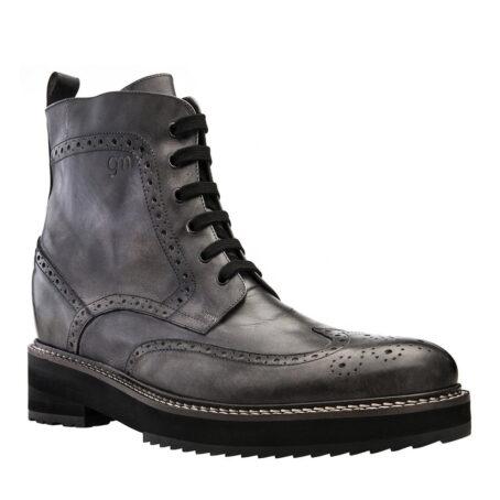 Herren Stiefel aus echtem Leder Handgefertigte aus Italien 1