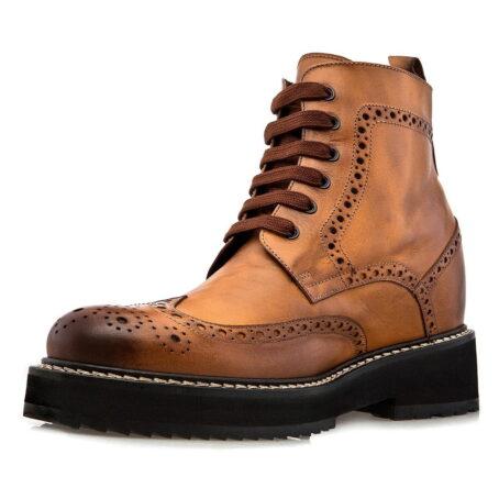 patina cognac boots 3