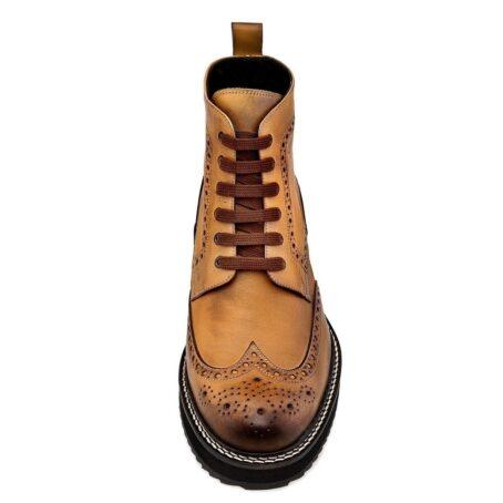 patina cognac boots 2