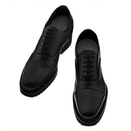 Chaussures de ville en cuir véritable originaire d'Italie 2