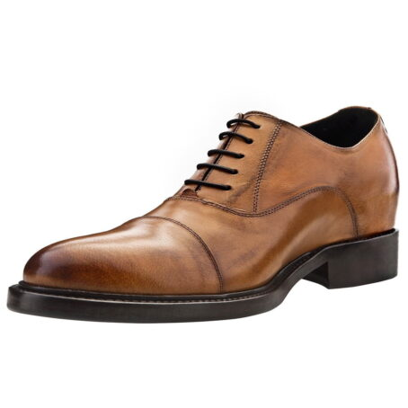 scarpe da uomo marroni brogue decorate