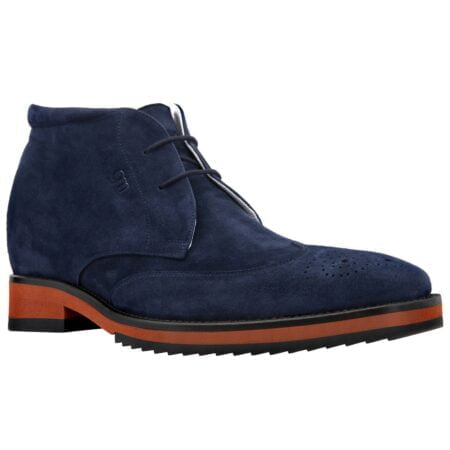 blue suede ankle boots 5