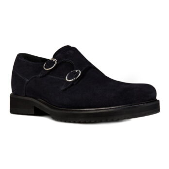 black suede monk men shoes 5