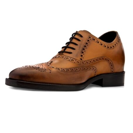 brogue brown dress shoes 3