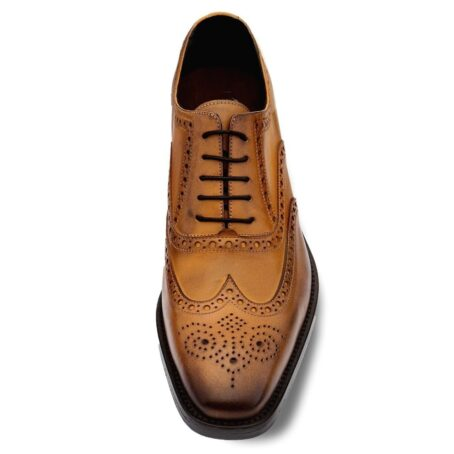 brogue brown dress shoes 2