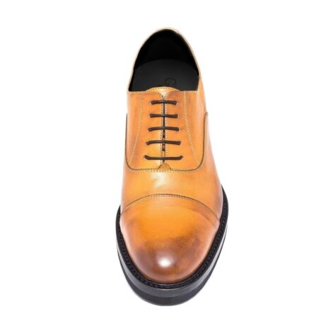 burnished light brown dress shoes 6