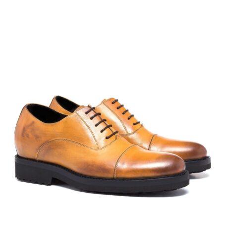 burnished light brown dress shoes 5