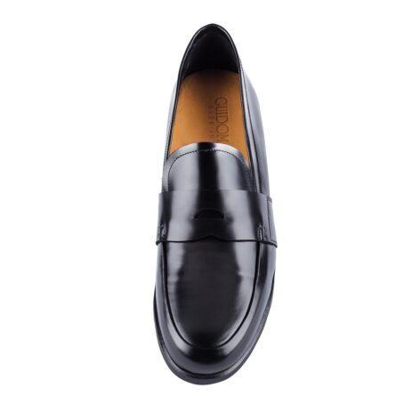 scarpa matrimonio pelle italiana con tacco rialzato