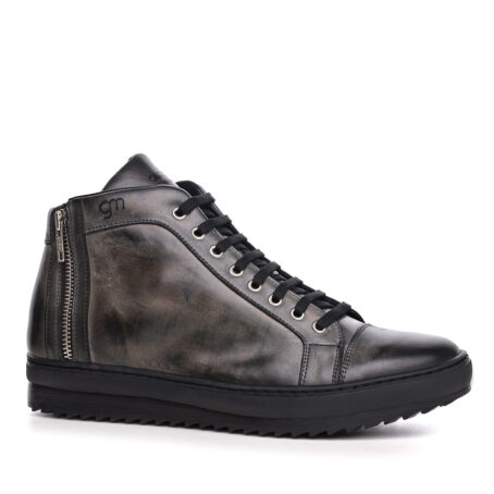 dark high top sneakers 7
