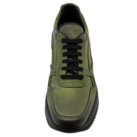 Baskets en vert olive bruni 4