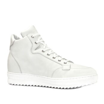 white high cut sneakers 6