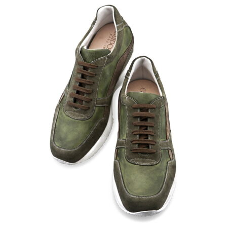 olive green sneakers 3