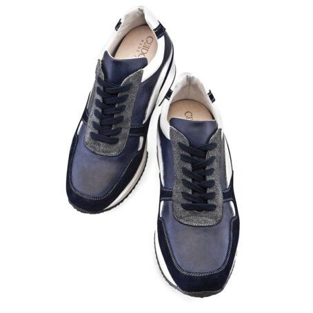 Sneakers mit Absatz Qualitätsmerkmale Vollnarbiges Leder 2