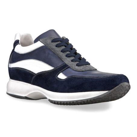 Sneakers mit Absatz Qualitätsmerkmale Vollnarbiges Leder 1