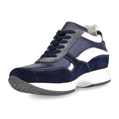 Sneakers mit Absatz Qualitätsmerkmale Vollnarbiges Leder 3