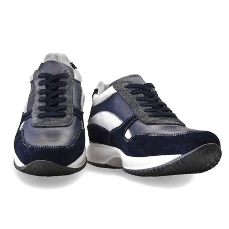 Sneakers mit Absatz Qualitätsmerkmale Vollnarbiges Leder 4
