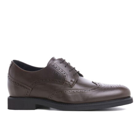 Abruzzo brogue handmade shoe with inner elevation