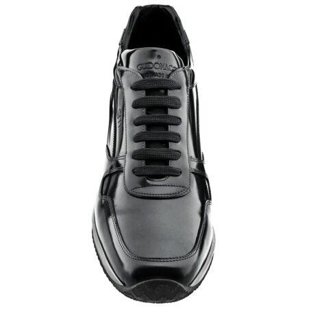 Abu Dhabi men shoe with invisible elevation Guidomaggi Switzerland