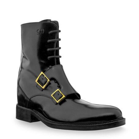 Black shiny boots Guidomaggi raisingboots