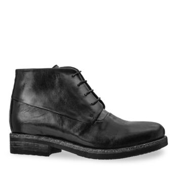 black chukka boots in soft leather 1