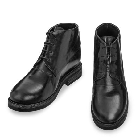 black chukka boots in soft leather 2
