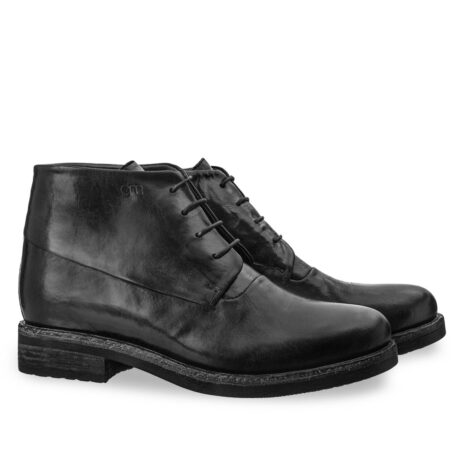 black chukka boots in soft leather 5