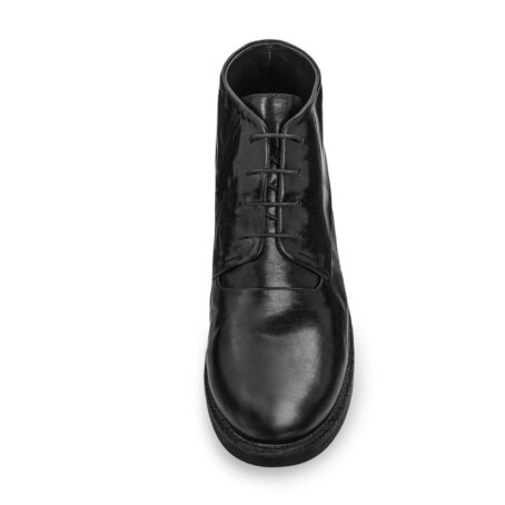 black chukka boots in soft leather 4