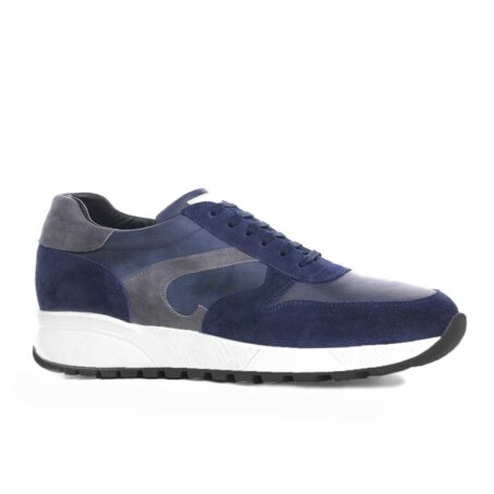 blue and grey suede sneakers 1