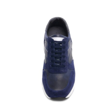 blue and grey suede sneakers 4
