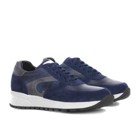 blue and grey suede sneakers 5