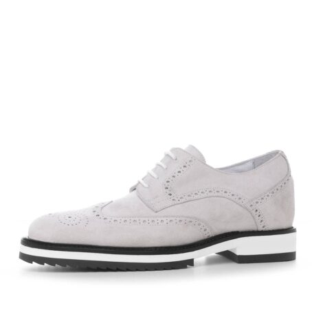 ice white suede derby shoes wingtip brogue 3