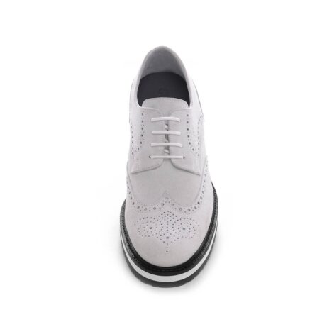 ice white suede derby shoes wingtip brogue 4