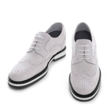 ice white suede derby shoes wingtip brogue 2