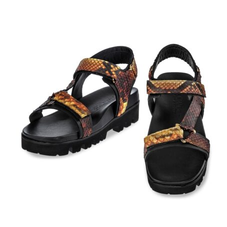 sandals with python effects 2