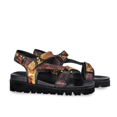 sandals with python effects 5