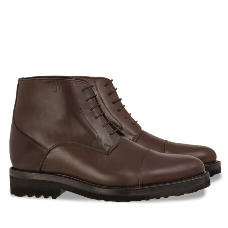 dark brown leather ankle boots 5