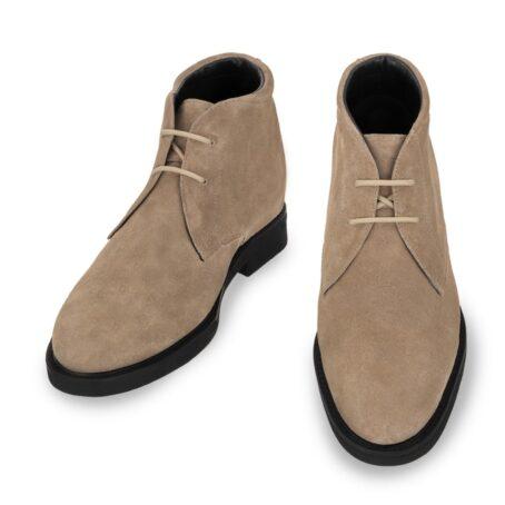 beige sand suede chukka boots 2