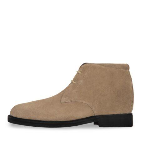 beige sand suede chukka boots 3