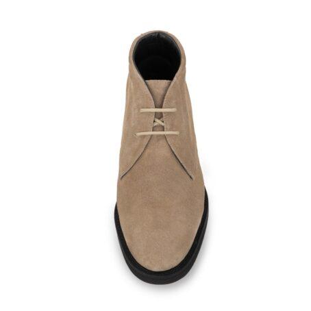 beige sand suede chukka boots 4