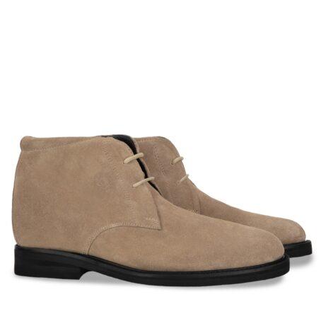beige sand suede chukka boots 5