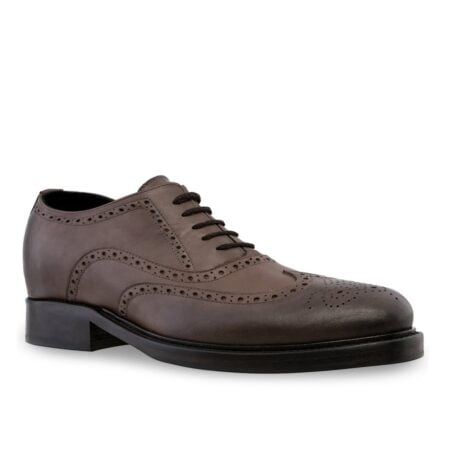 dark brown oxfords shoes full wingtip brogue 1