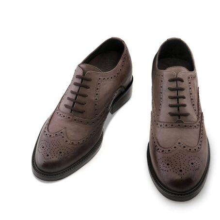 dark brown oxfords shoes full wingtip brogue 2