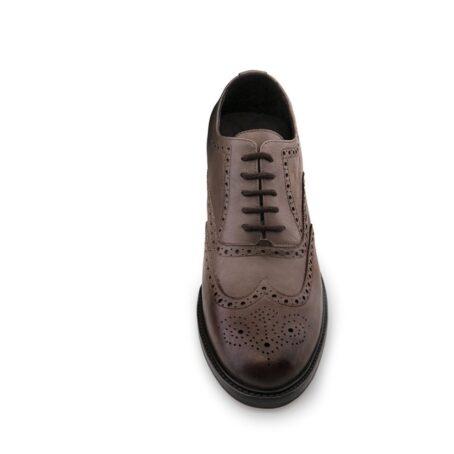 dark brown oxfords shoes full wingtip brogue
