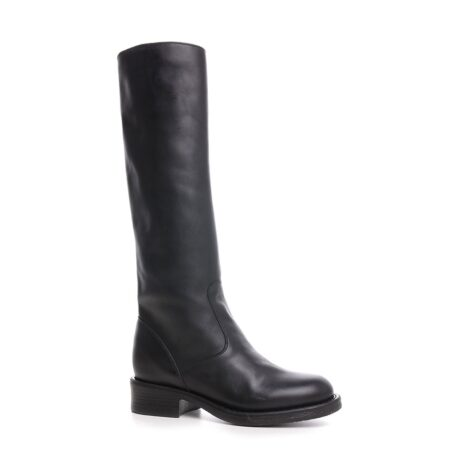 high-top black women's boots 1